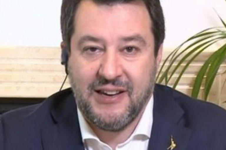 Salvini morte Maradona