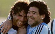 Tevez e Maradona
