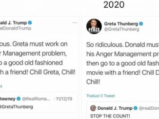 Trump greta thunberg