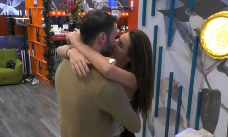 Andrea Zenga Dayane bacio