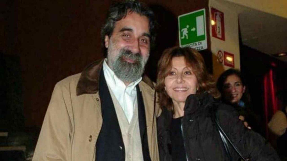 Beppe Vessicchio con la moglie Enrica