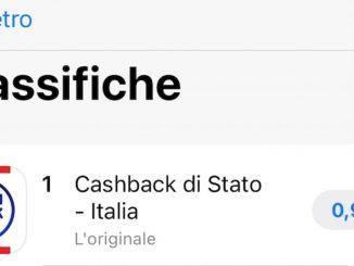 cashback di stato app sbagliata a pagamento