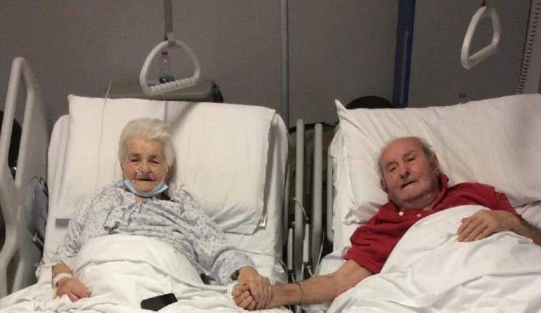 coppia anziani covid