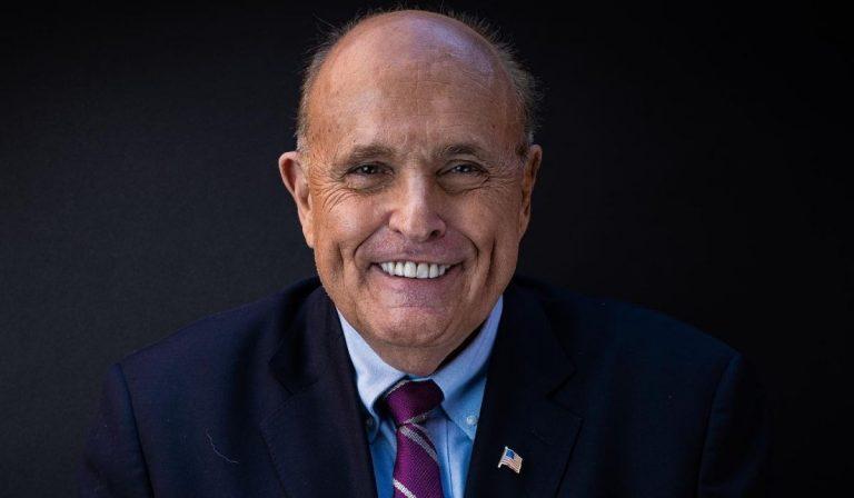 Covid Rudy Giuliani positivo