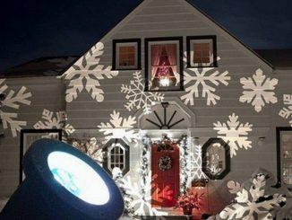 faretti per luci natalizie