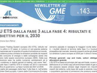 Energia, è online la nuova newsletter Gme
