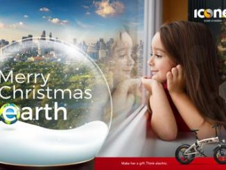 Mobilità, V-ita Group lancia la campagna 'Merry Christmas Earth'