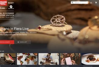 Per 'Artigiano in Fiera Live' 4 mln visualizzazioni, sarà online tutto l'anno