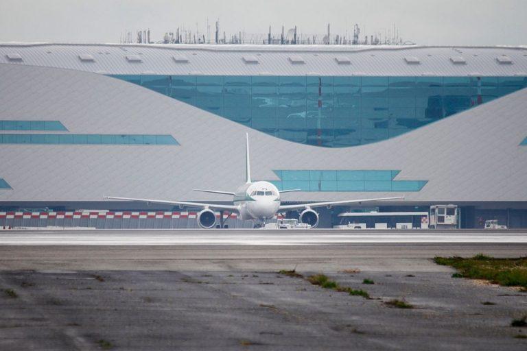 Fiumicino volo covid tested