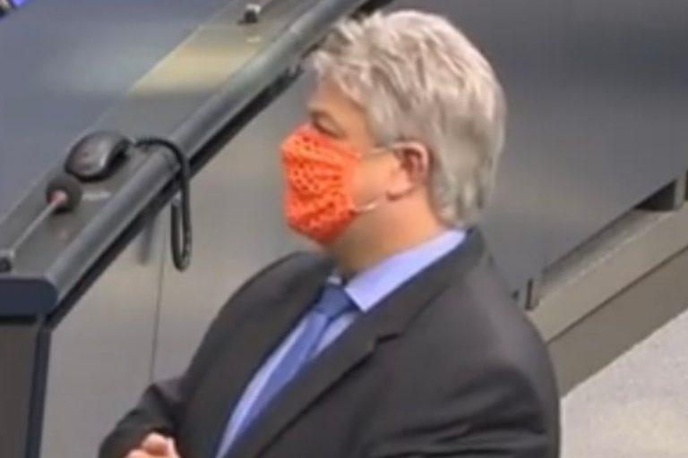 Germania deputato negazionista covid