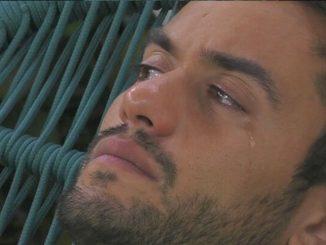 GF Vip Pierpaolo Pretelli lacrime