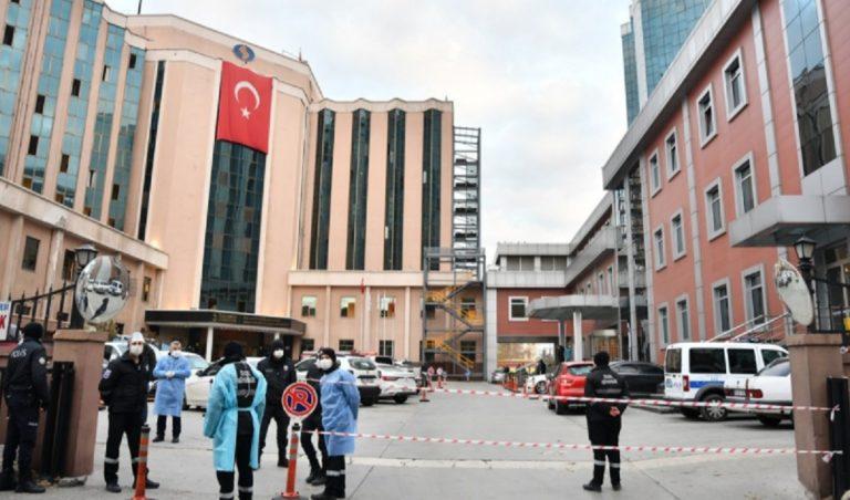 Incendio ospedale Covid Turchia