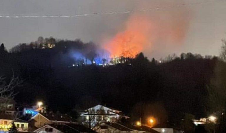 Incendio villa Cordero Montezemolo
