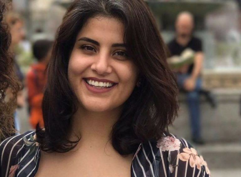 L'attivista saudita Loujain al-Hathloul