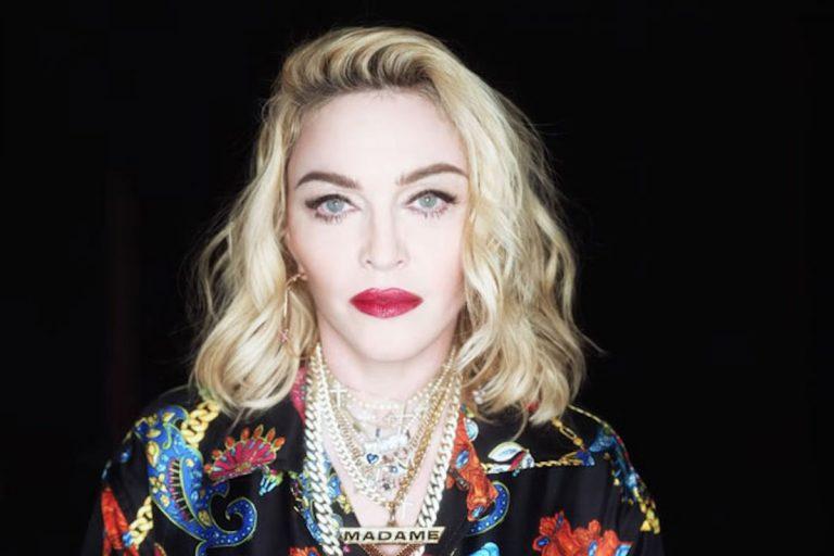 Madonna tatuaggio