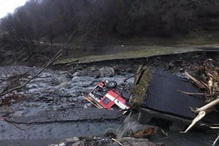 maltempo veneto ponte crollato
