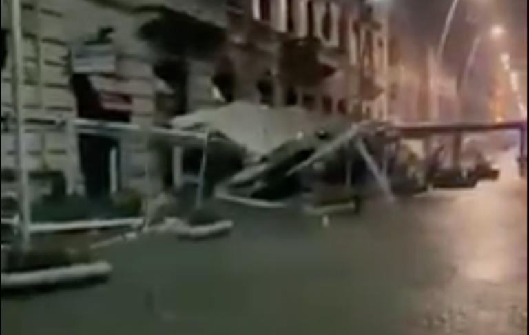 Mareggiata Napoli