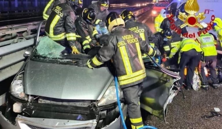 Milano incidente tangenziale