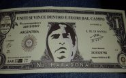 banconota maradona argentina