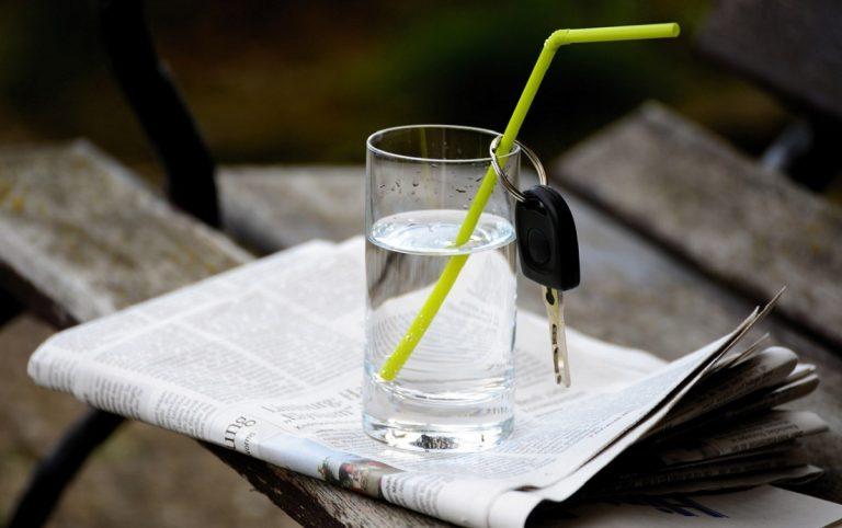 Multato per bicchierre d'acqua