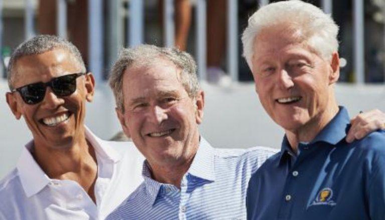 Obama Bush Clinton vaccino covid