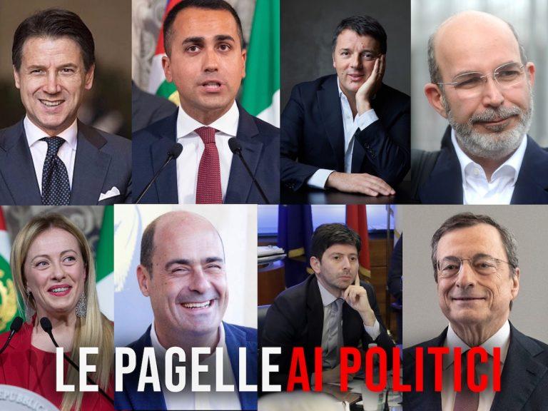 Pagelle 2020 politici italiani