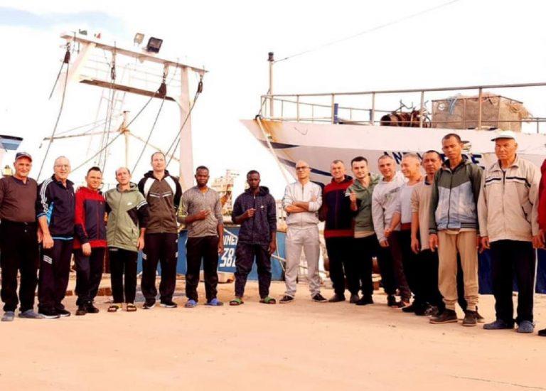 pescatori liberati dalla libia a mazara