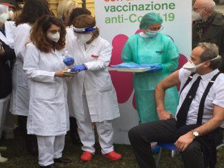 primo vaccinato piemonte infettivologo