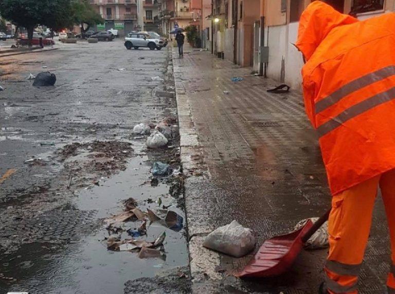 Reggio Calabria allagata