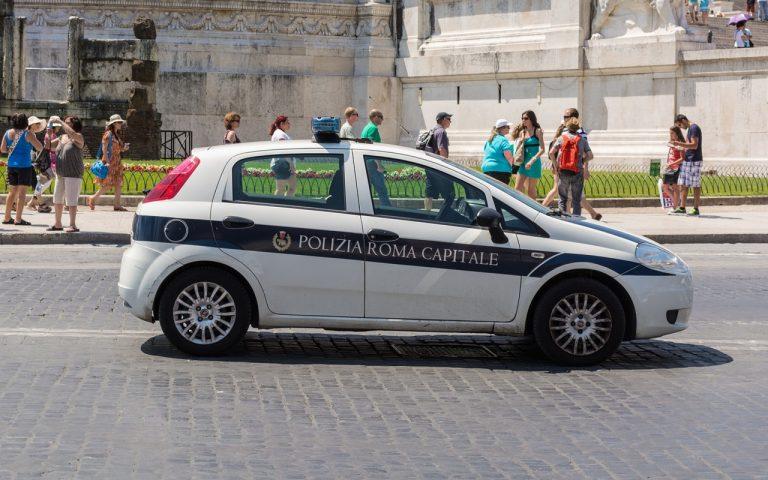 polizia locale roma identifica ragazzini che hanno affittato una casa per fare una festa