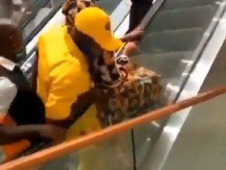 scale mobili centro commerciale camerun