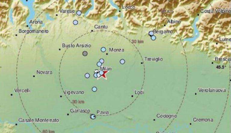 terremoto a milano oggi, scossa avvertita in centro città