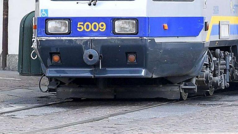 donna investita tram