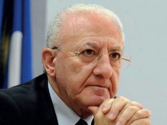 De Luca conferma le limitazioni per la Campania, le stesse della zona arancione