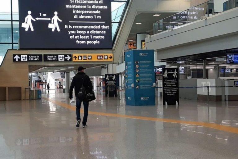 Volo da Londra fa scalo a Lisbona per evadere i controlli a Roma