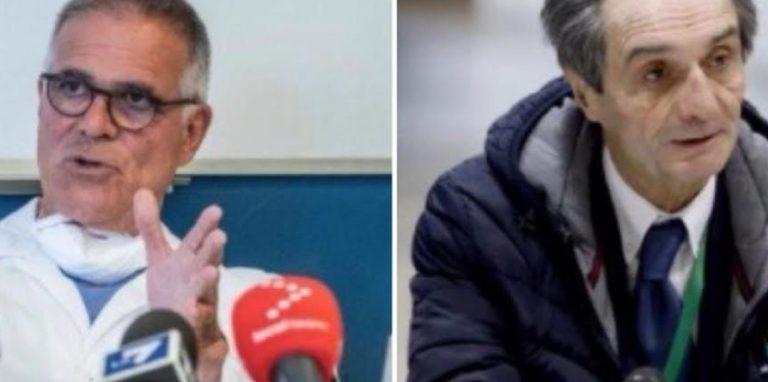 Zangrillo Fontana gestione Covid