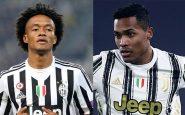 Juventus, Alex Sandro e Cuadrado positivi al Covid: sono in isolamento