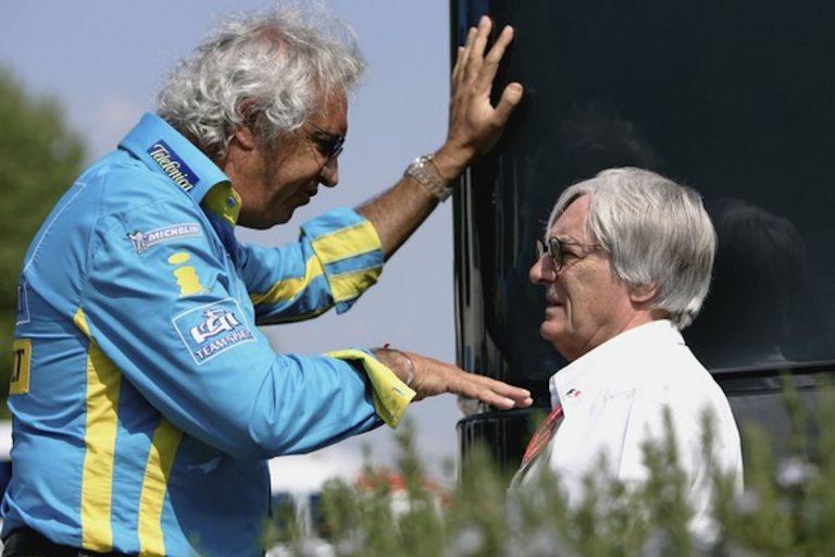 Briatore Bernie Ecclestone