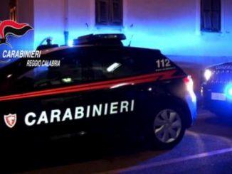 Carabinieri di Reggio Calabria in azione