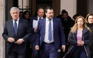 """Crisi di governo, il centrodestra da Mattarella: """"Maggioranza inconsistente"""""""