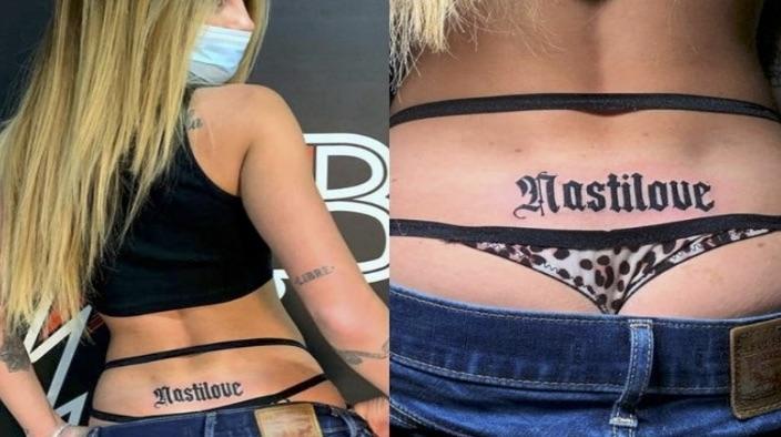 Chiara Nasti tatuaggio
