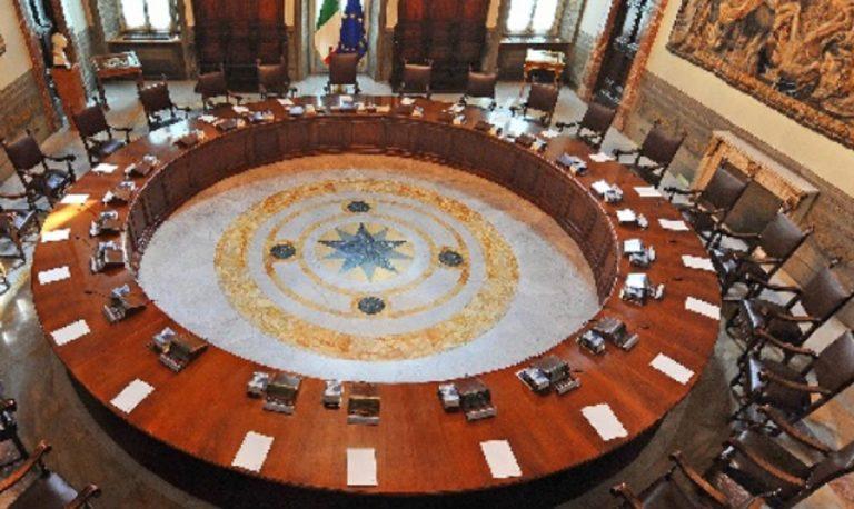 Consiglio dei Ministri recovery plan