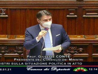 conte discorso camera