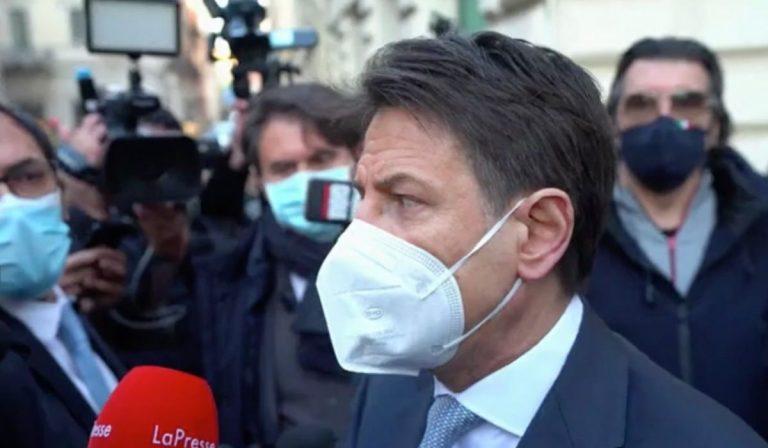 conte ter negata apertura a Renzi