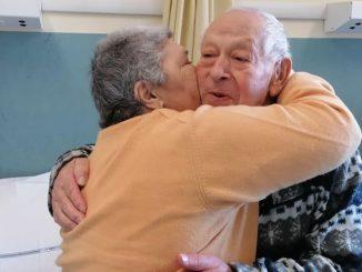 Coronavirus anniversario di nozze in ospedale