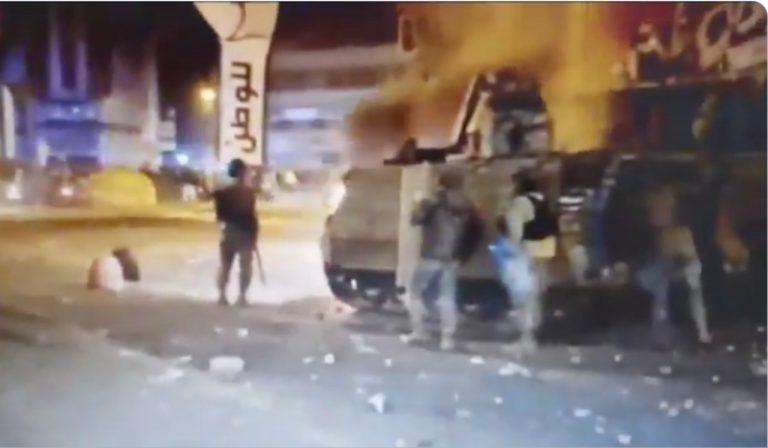 Covid-19 in Libano, le violenti proteste