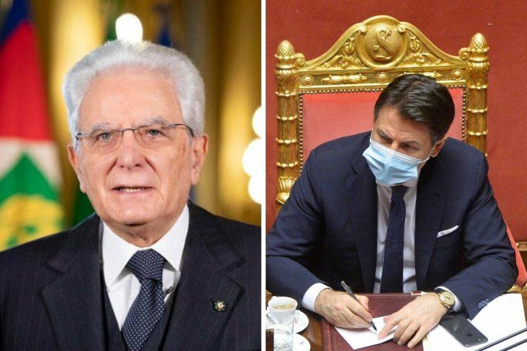 Crisi di governo Mattarella Conte