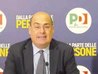 crisi di governo Zingaretti