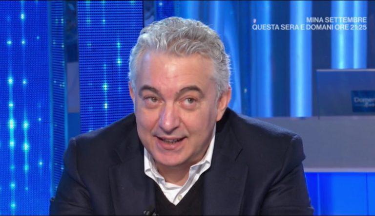 Domenico Arcuri a Domenica In