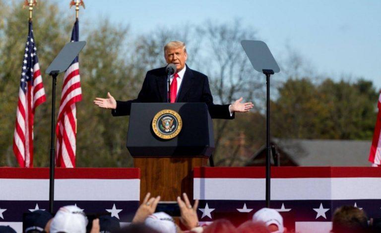 Donald Trump e l'assalto al Congresso Usa